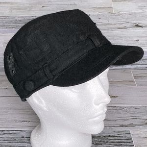 Quilted Military cap
